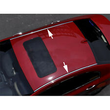 "3/4"" & 12ft Fit For CHRYSLER CHROME CAR ROOF TOP TRIM CHANNEL MOLDING COVER KIT"