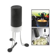 New Hands Free Kitchen Food Sauce Automatic Robo Blender Stirrer Stir Crazy