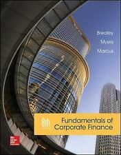 Fundamentals of Corporate Finance by Brealey, Myers and Marcus 8th edition