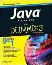 Lowe, Doug-Java All-In-One For Dummies  BOOK NEW