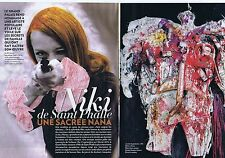 COUPURE DE PRESSE CLIPPING 2014 NIKI de SAINT PHALLE  (10 pages)