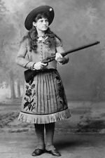 "New 5x7 Photo: Old West Sharpshooter Miss Annie Oakley, ""Little Sure Shot"""