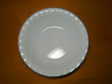 Corelle BOTANIQUE Set of 3 Soup Cereal Bowls 7 1/4 Swirl Blue Floral