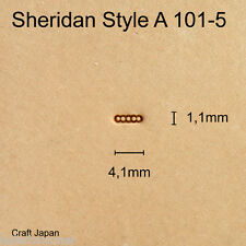 Punziereisen Sheridan Style A 101-5 - Background - Craft Japan