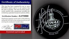 PSA/DNA JONATHAN TOEWS 2010 STANLEY CUP REAL GAME 6 PUCK AUTOGRAPHED-SIGNED 3960
