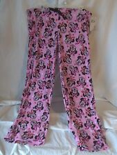 OFFICIAL DISNEY MINNIE MOUSE PINK SLEEPWEAR PLUSH LOUNGE PAJAMA PANTS 3X LARGE