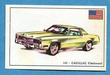 STORIA DELL'AUTOMOBILE Panini Figurina-Sticker n. 143 - CADILLAC FLEETWOOD -Rec