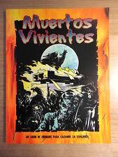Libro Rol,Muertos Vivientes,Ed.La Factoria 2002