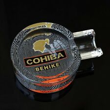 COHIBA BEHIKE Cigar Glass Ashtray new in gift box