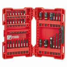 MILWAUKEE 48-32-4006 SHOCKWAVE DRILL & IMPACT DRIVER BIT SET 40PC WITH CASE