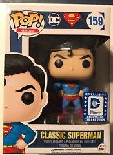 SUPERMAN CLASSIC FUNKO POP HEROES #159 LEGION OF COLLECTORS DC COMICS NEW