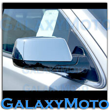 15-16 Chevy Tahoe Triple Chrome Nickel Top Half Mirror Cover 15 Rear View a pair