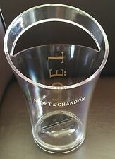 MOET CHANDON CHAMPAGNE COOLER   PLEXIGLASS ACRYLIC BRAND NEW