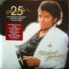 Michael Jackson 25th Anniversary Thriller LP Sealed! Vinyl Record