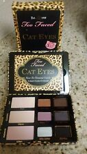 Authentic Too Faced Ferociously Feminine Cat Eyes Eye Shadow & Liner Palette New