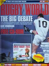 Rugby World Magazine Julio de 1999, Leicester, Bristol, aldwinians, Neath College