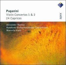 Paganini: Violin Concertos Nos. 1 & 2; Capricci, Op. 1 (CD, Feb-2007, 2...
