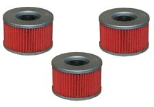 Oil Filter 3-Pack for HONDA 1978-79 CB 400T CB400T CB400AT HF111