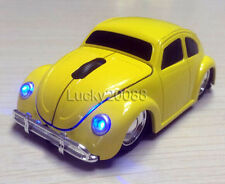 2.4G Wireless 3D Volkswagen VW beetle car optical mouse Mice for PC/Laptop gift