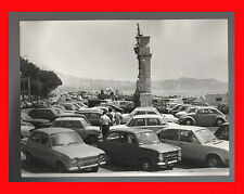 FOTOGRAFIA PHOTO VINTAGE B/N BLACK AND WHITE 1979 NAPOLI VECCHIE AUTO CARACCIOLO