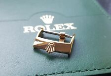 NEW ROLEX GOLD PLATED BUCKLE 16MM. (WS-B19)