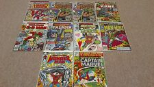 MARVEL PREMIERE (9) Lot 29 31 34 35 43 44 45 55 Bronze Age Comics + Spotlight 8