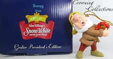 Grolier Sneezy President's Edition Ornament Disney Snow White and the 7 Dwarfs &