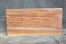 Black walnut 1-piece headless bass guitar body blank   #1282