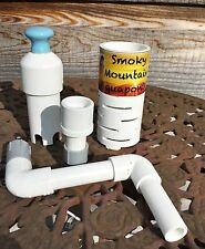 "Aquaponics Auto Bell Siphon Kit 4 1/2"" Media or Smaller Grow Bed Kitchen Garden!"