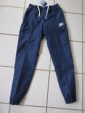 New Mens Genuine Nike Training Pants,Tracksuit trousers, Navy -M 832846