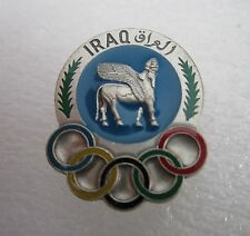 1980 MOSCOW OLYMPICS IRAQ NOC PIN BADGE