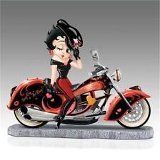 BETTY BOOP CHOPPER Collectible Figurine NEW