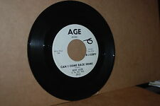 RICKY ALLEN & ALLEN DOLLS: CAN I COME BACK HOME & EIGHTY HOUR WEEK VG++ PROMO 45