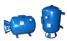 IBO air/water vessel booster VERTICAL PRESSURE TANK 100L & MANOMETER &diaphragm