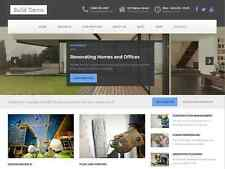 Fully Responsive Construction, Building Industry Website