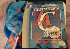 L.A. CLIPPERS ROYAL PLUSH TOWEL SILKY BLANKET