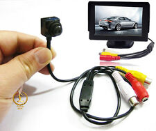 """4.3"""" Color LCD monitor + 10M screw pinhole spy Security camera Monitoring System"""