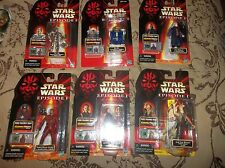 Star Wars Ep I Set 6 Amidala Ascension TC-14 R2-B1 Sio Bibble Jar Jar Naboo AFA?
