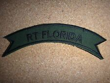 US 5th Special Forces Group RT FLORIDA Subdued Scroll Patch