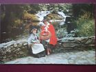 POSTCARD SOCIAL HISTORY WELSH NATIONAL COSTUME