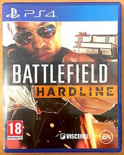 Battlefield Hardline - Playstation PS4 Games - Very Good Condition