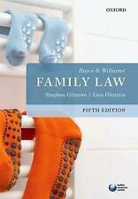 Hayes & Williams' Family Law by Stephen Gilmore, Lisa Glennon (Paperback, 2016)