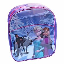 Disney Frozen Elsa Anna Kristoff Backpack IDEAL FOR SCHOOL ADJUSTABLE STRAP