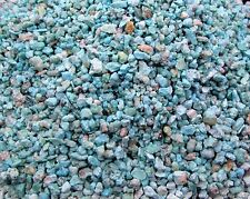 Blue Green Sonoran Turquoise Inlay Material 1 ounce natural chips wood stone
