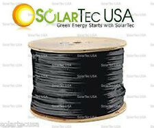 1 roll (500 ft)Solar PV Wire #10 AWG Black. CALL US @ (818) 78 SOLAR! BEST DEAL