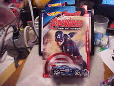 Hot Wheels Marvel Avengers Age of Ultron Captain America Power Rage