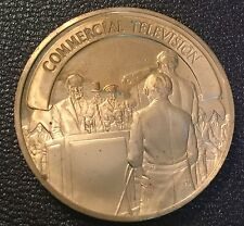 Regular Commercial Television Opening Ceremony New York Worlds Fair  Coin Medal