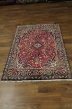 Traditional Design Small Size Kashan Persian Rug Oriental Area Carpet 3'7X5'3
