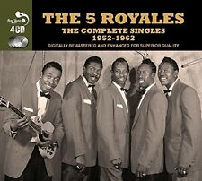 The 5 Royales COMPLETE SINGLES 1952-1962 Best Of ULTIMATE COLLECTION New 4 CD