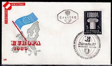 EUROPA CEPT FDC 1960 AUTRICHE 3